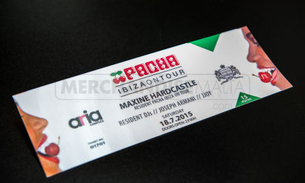 Glossy Ticket