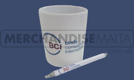 Mug, Pen